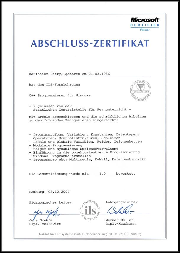 Karlheinz Petry - Portfolio 2018   seiten: Zertifikate